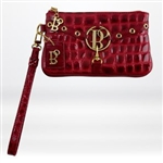 Bolzano City Stich Wristlet Red