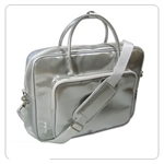 Ice Red Silver Shine Laptop Bag