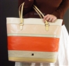 Liz Claiborne Vivien Sp09 Large Tote Multi Color  HLRU6743