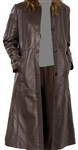 full length lambskin leather coat