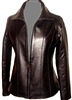 premium lambskin zippered jacket