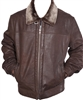 lambskin flight jacket