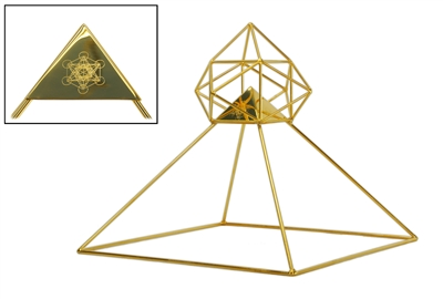 Buddha Maitreya the Christ Solar Ascension Head Pyramid