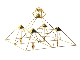 Buddha Maitreya the Christ Small Pyramid Grid