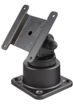 Horizontal or Vertical Mount with Pivot and Swivel VESA 75mm Compatible Plate
