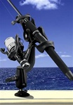 RAM-ROD 2000 Fishing Rod Holder with RAM-ROD Revolution Ratchet/Socket System and Tallon Receiver Base