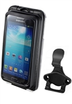 Aqua Box Pro 20 Large Smartphone Waterproof Holder WITH Cradle Attachment (Fits Smartphones Up To 5.38''(H) X 2.8''(W) X 0.55''(D)