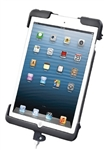 RAM-HOL-TAB11U Docking Connector Cradle for Apple iPad Mini (1st Gen, 2nd Gen and Mini 3) WITHOUT Case or Cover