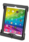 "RAM LOCKING Universal Tab-Tite Holder for Apple iPad Air, Air 2 (Fits WITH Thin Case/Cover) and Tablets within the Following Dimensions: Height 9"" to 11"", Max Width 7.43"", Depth to .87"""