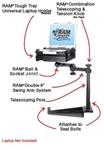 Nissan: Titan, Armada (2004-2014) and Infiniti QX56 (2004-2010) Laptop Mount System