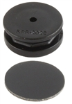 RAM Double Thick Octagon Button with Adhesive Pad
