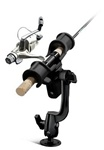 RAM-ROD Light-Speed Holder with RAM-ROD Revolution Ratchet/Socket System and Round Flat Surface Base