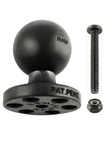 RAM Stack-N-Stow Topside Base with 1 Inch Diameter Ball