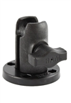 COMPOSITE Single Socket Arm with 2.5 Inch Diameter Round Octagon Socket Base