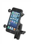 "COMPOSITE Standard Sized Length Arm with RAM-HOL-UN7BU Universal X Grip Spring Loaded Holder (Fits Device Width .875"" to 3.25"") with 1""  Dia. Sized Ball (Fits Device Width .875"" to 3.25"" including iPhone 5/5S, iPhone 6, Galaxy S5, S6, etc)"