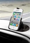 Universal 2.5 Inch Adhesive Base with RAM-HOL-AP9U Apple iPhone 4 Holder (4th Gen/4S WITHOUT Case or Cover)
