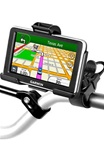 Easy Strap Base with Rubber Strap, SHORT Arm and Garmin RAM-HOL-GA44U Holder (Select nuvi 2300 Series)