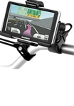 Easy Strap Base with Rubber Strap, SHORT Arm and Garmin RAM-HOL-GA45U Holder (Select nuvi 2400 Series)