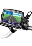 Easy Strap Base with Rubber Strap, SHORT Arm and TomTom RAM-HOL-TO10U Holder for Selected: Start 55, XXL 535T, 540, 550 Series