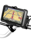 Easy Strap Base with Rubber Strap, SHORT Arm and TomTom RAM-HOL-TO11U Holder for Selected GO 2535 Series