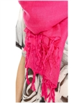 Love Quotes Tassel Scarf in Ambrosia