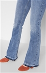 7 For All Mankind Ali Flare with Released Hem