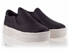 Ash Jungle Womens Sneaker Black Leather