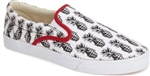 Bucketfeet Pineappleade Canvas Slip-On