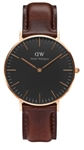 Daniel Wellington Classic Black Bristol 36MM