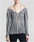 Free People Blouse Adelia