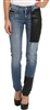 McQ by Alexander McQueen  Hybrid Low Waist Skinny Jeans