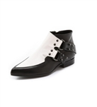 McQ By Alexander McQueen D Ring Flat Booties