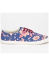 Bucketfeet Blue East Canvas lace-up