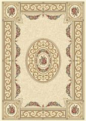 Dynamic rugs an212572266464 ancient garden rug, 2.2x11, ivory