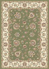 Dynamic rugs an212573654464 ancient garden rug, 2.2x11, green/ivory