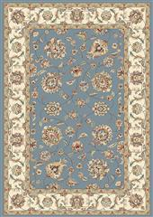 Dynamic rugs an212573655464 ancient garden rug, 2.2x11, lt.blue/ivory