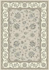 Dynamic rugs an212573659666 ancient garden rug, 2.2x11, soft grey/cream