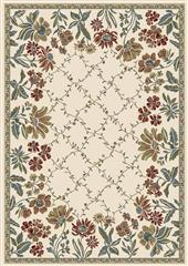 Dynamic rugs an24570846464 ancient garden rug, 2x3.11, ivory
