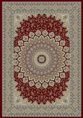 Dynamic rugs an24570901484 ancient garden rug, 2x3.11, red