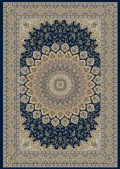 Dynamic rugs an24570903484 ancient garden rug, 2x3.11, navy