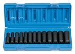 "Grey Pneumatic 1203MD 3/8"" Drive 13 Piece Deep Metric Set - 12 Point"
