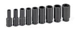 "Grey Pneumatic 1209DG 3/8"" Drive 9 Pc. Deep Magnetic Impact Socket Set"