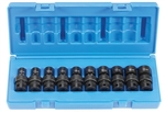"Grey Pneumatic 1210UM 3/8"" Drive 10 Piece Universal Metric Set"