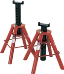 Norco 81208 10 Ton Cap. Jack Stands - Pin Type-[Low] - U.S.A.