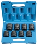 "Grey Pneumatic  9108 1"" Drive 8 Piece Standard Set"