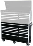 Montezuma BK5611TC 56 11-Drawer Roller Cabinet Toolbox (black)