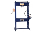 "Hein Werner HW93301 25 Ton Shop Press, 6"" Stroke, W/ Air-Pump"