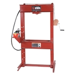 "BVA IAP5506 55 Ton 6"" H-Frame Press with PA1500 Air Pump"