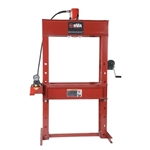 "BVA IAP5513 55 Ton 13"" H-Frame Press with PA3801 Air Pump"