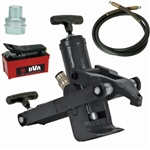 BVA J22953 Hydraulic Bead Breaker Tire Tool with PA1500, hose, gauge & fitting